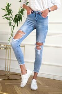 Jeansy Popatu z jeansu