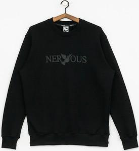 Czarna bluza Nervous z bawełny