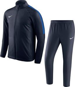 Niebieski dres Nike Team z dresówki