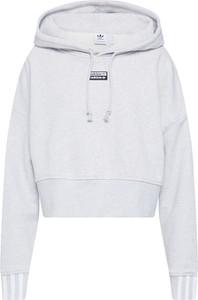 Bluza Adidas Originals z dresówki krótka w stylu casual