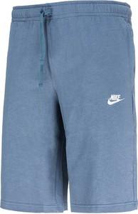 Niebieskie spodenki Nike