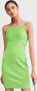 Zielona sukienka Reserved mini