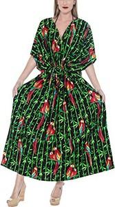 Sukienka La Leela z dekoltem w kształcie litery v