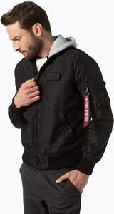 Brązowa kurtka Alpha Industries w stylu casual