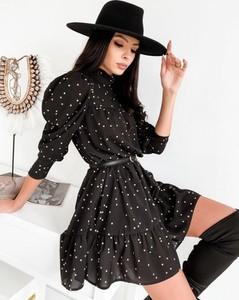 Sukienka Infinityfashion.pl z długim rękawem