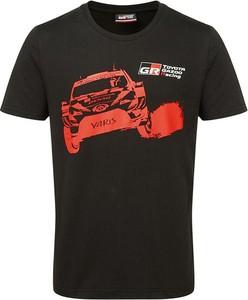 T-shirt Toyota Gazoo Racing z krótkim rękawem z bawełny
