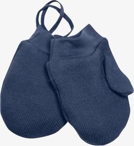 Granatowe rękawiczki Iltom