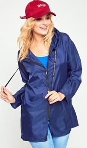Niebieska kurtka Yups w stylu casual