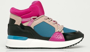 Buty sportowe Aldo sznurowane na platformie