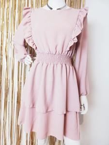 Różowa sukienka Luashop.pl mini