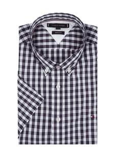 Koszula Tommy Hilfiger z bawełny w stylu casual z krótkim rękawem