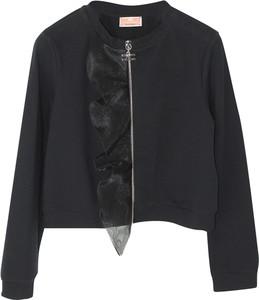 Czarna kurtka dziecięca Elisabetta Franchi