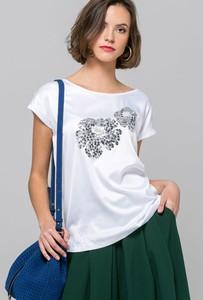 Bluzka Monnari w stylu glamour