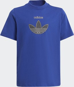 Koszulka dziecięca Adidas dla chłopców z dzianiny
