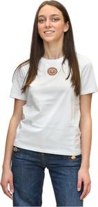 T-shirt Elisabetta Franchi z bawełny