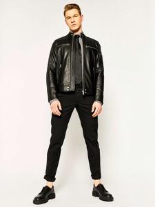 Czarna koszula Karl Lagerfeld z długim rękawem