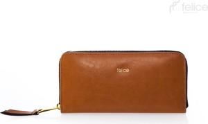 Brązowy portfel Felice