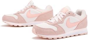 Buty sportowe Nike md runner z zamszu sznurowane