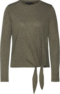 Bluzka Vero Moda z dżerseju z długim rękawem z okrągłym dekoltem