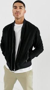 Czarna kurtka Bolongaro Trevor z zamszu w stylu casual