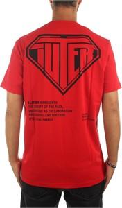 Czerwony t-shirt Iuter