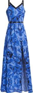 Sukienka Gaberon z dekoltem w kształcie litery v