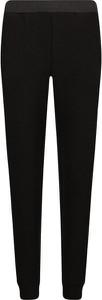 Czarne spodnie Guess Jeans w młodzieżowym stylu