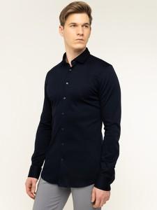 Granatowa koszula Digel z długim rękawem