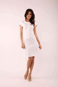64f3475516cd3 eleganckie sukienki ecru - stylowo i modnie z Allani