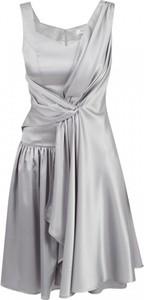 Sukienka POTIS & VERSO mini bez rękawów z jedwabiu