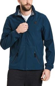 Niebieska kurtka Bench w stylu casual