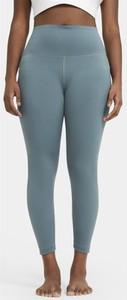 Niebieskie legginsy Nike w sportowym stylu