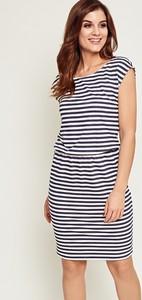 a77cc0a6ef sukienka w marynarskie paski - stylowo i modnie z Allani