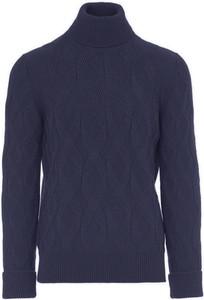 Niebieski sweter Paolo Pecora