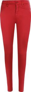 Czerwone jeansy Armani Exchange w stylu casual