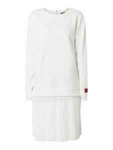 Sukienka Hugo Boss w stylu casual z długim rękawem z szyfonu