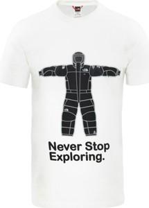 T-shirt The North Face z bawełny