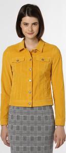 Żółta kurtka comma, w stylu casual
