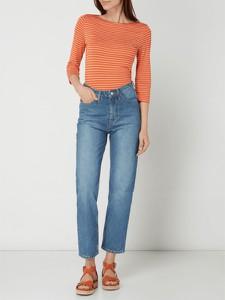 Pomarańczowa bluzka Tommy Hilfiger w stylu casual