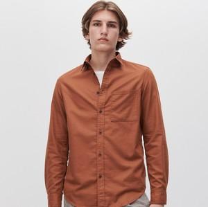 Brązowa koszula Reserved w stylu casual