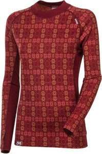 Bluzka Progress w stylu casual z wełny z długim rękawem