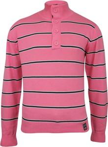 Różowy sweter Cutting Edge w młodzieżowym stylu