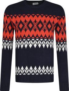 Sweter Pepe Jeans z wełny w młodzieżowym stylu