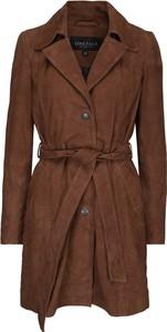 Brązowy płaszcz Onstage w stylu casual