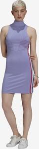 Sukienka Adidas Originals w sportowym stylu z bawełny mini