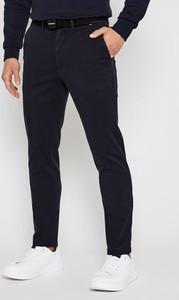 Czarne chinosy Calvin Klein z bawełny w stylu casual