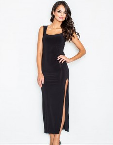 Czarna sukienka Figl na ramiączkach