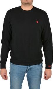 Sweter U.S. Polo w stylu casual z okrągłym dekoltem
