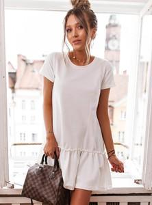 Sukienka SELFIEROOM mini z bawełny w stylu casual