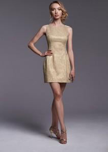 Złota sukienka Ella Boutique mini